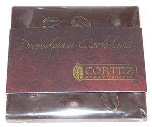 Cortez mini-czekolada ciemna z kawą i miętą 35g