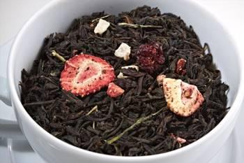 Herbata czarna - Koktajl Truskawkowy