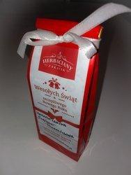 Herbata świąteczna WESOŁYCH ŚWIĄT czerwona