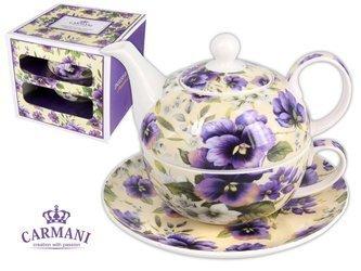 Tea for one FIOLETOWE BRATKI Carmani