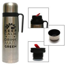 Termos 1l Keep Calm and Drink Mate Green