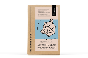 The White Bear Kolumbia Medellin 1000g kawa ziarnista