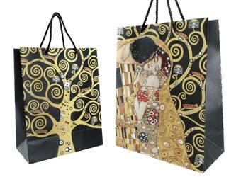 Torebka prezentowa POCAŁUNEK Klimt | M
