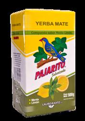 Yerba Mate Pajarito Menta Limon 500g cytrynowo - miętowa