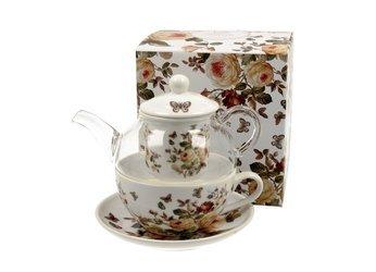 Zestaw TEA FOR ONE Filiżanka + Imbryk ZAHRA Duo