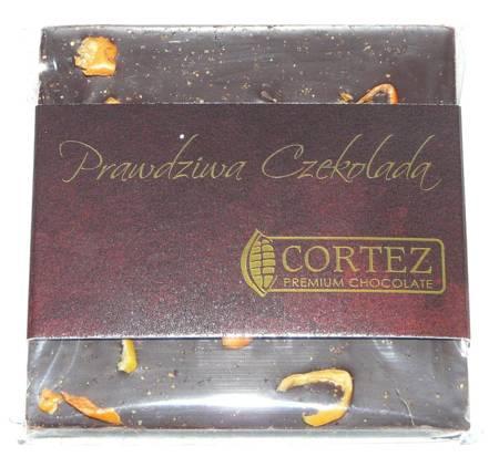 Cortez mini-czekolada ciemna papryczki chili i sól