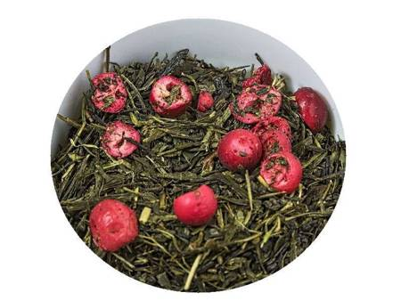 Herbata zielona - Sencha Żurawinowa