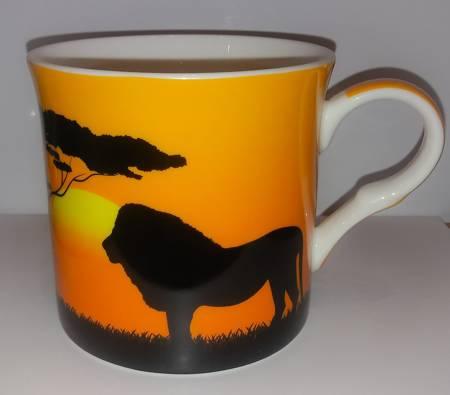 Kubek porcelanowy SAVANNAH 300ml lew