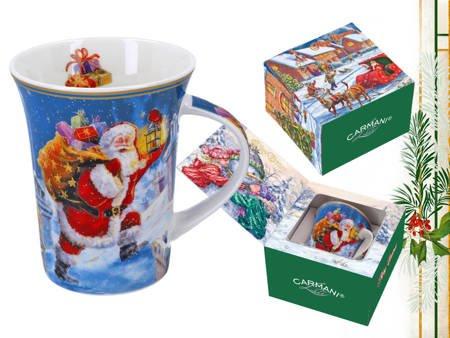 Kubek świąteczny ŚWIĘTA NA PRZEDMIEŚCIACH Carmani