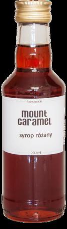 Mount Caramel - syrop różany 200ml